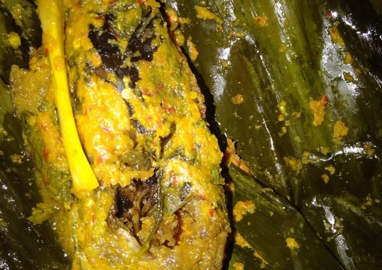 Resep: Pepes ikan lele lezat