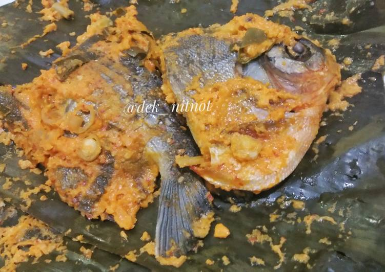 Resep: Pepes Ikan Bawal yang bikin ketagihan