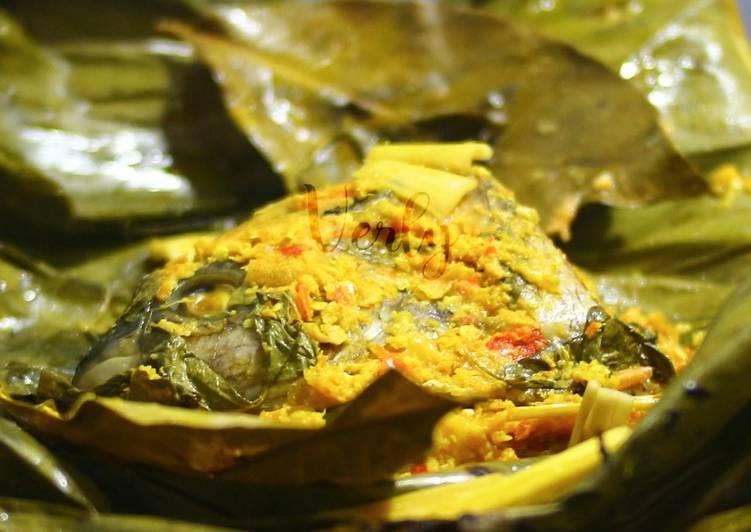 Resep: Pepes Ikan Gurame teflon sedap