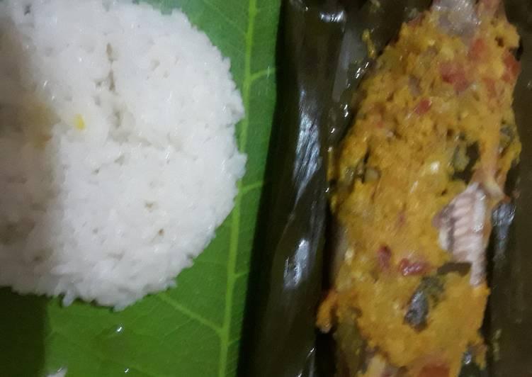 Resep: Pepes ikan kakap merah ala resto