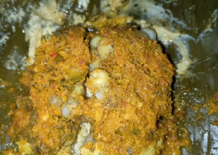 Resep mengolah Pepes telur ikan manyung istimewa