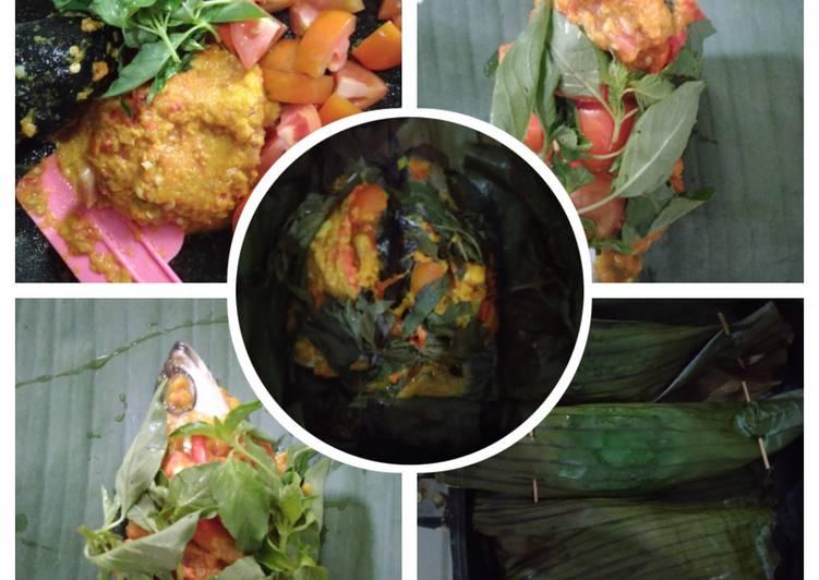 Resep: Pepes kemangi ikan bandeng ala DEBM ala resto