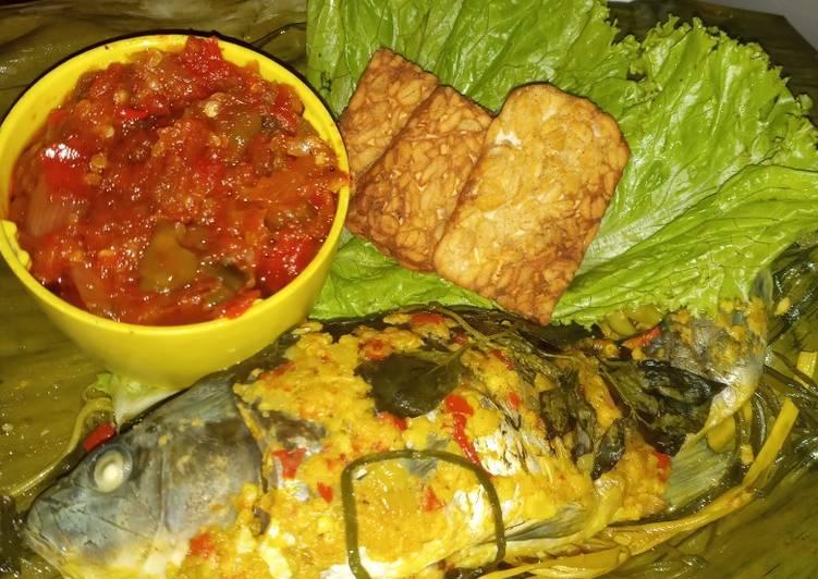 Resep: Pepes ikan mas enak
