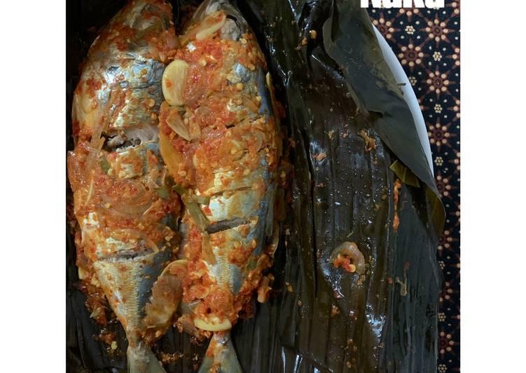 034. Pepes/ Singgang Ikan Selar