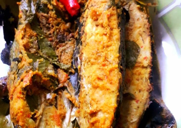 Resep membuat Pepes bandeng kemangi enak