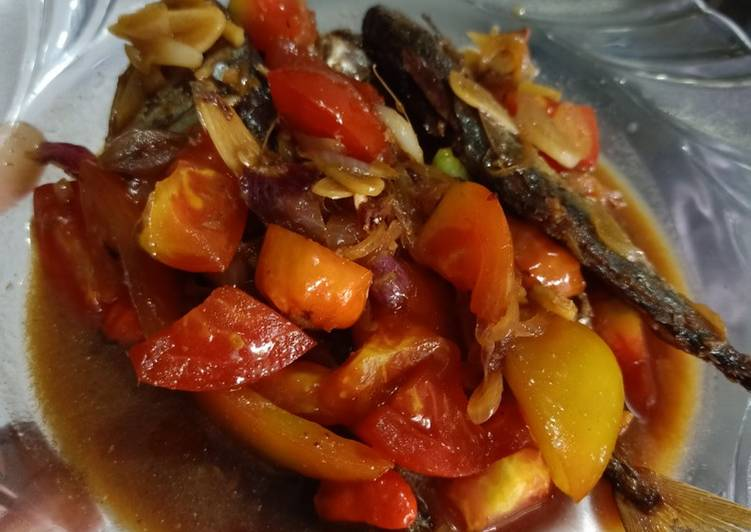 Cara Mudah memasak Peda tumis pedas yang bikin ketagihan