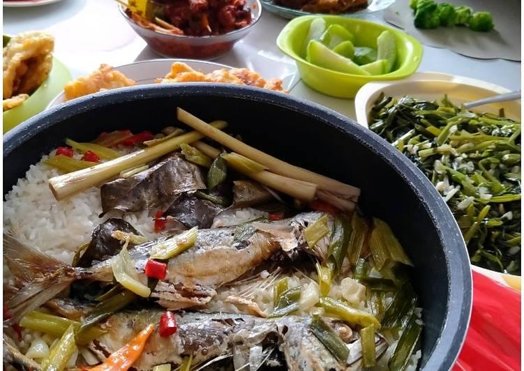 Resep: Nasi Liwet ikan Peda lezat