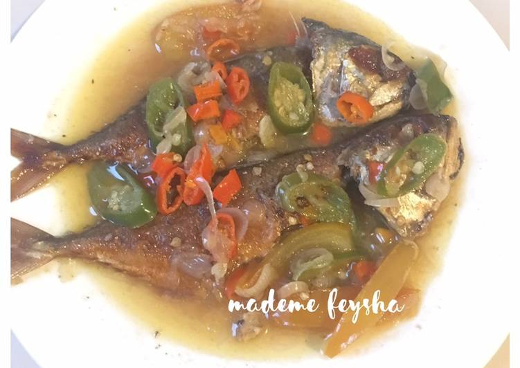 Resep memasak Tumis Ikan Asin Peda Cabe Ijo yang menggugah selera