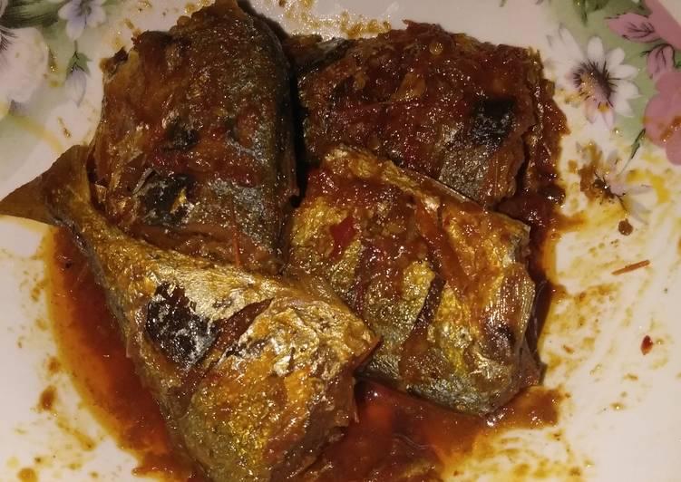 Resep: Ikan peda masak sambal
