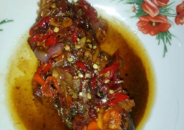 Cara mengolah Ikan peda manis asin gurih lezat