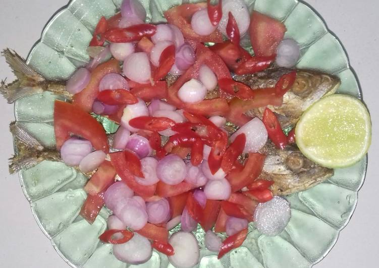 Resep membuat Ikan Peda Goreng yang bikin ketagihan