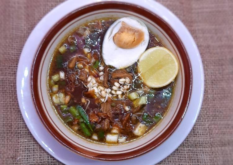 Cara membuat Rawon asli Jawa Timur lezat