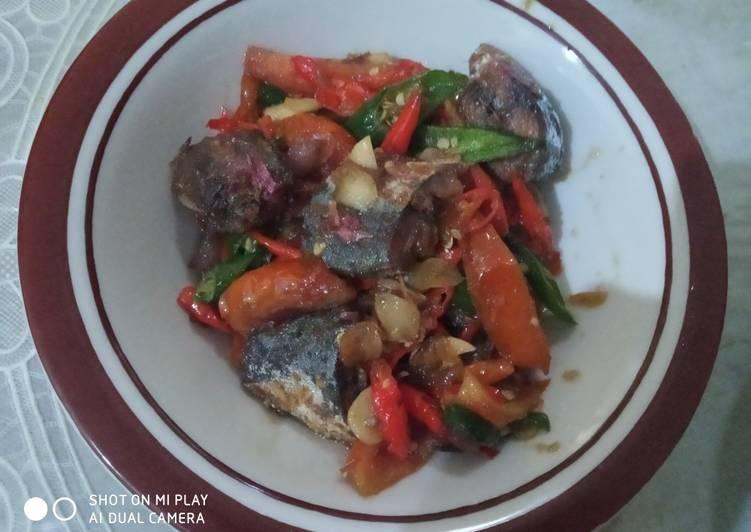 Resep: Ikan asin peda asam manis yang bikin ketagihan