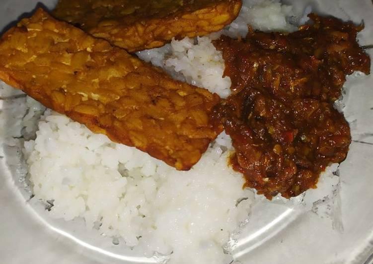 Resep memasak Sambel ikan asin peda #recookmamasyifahana enak