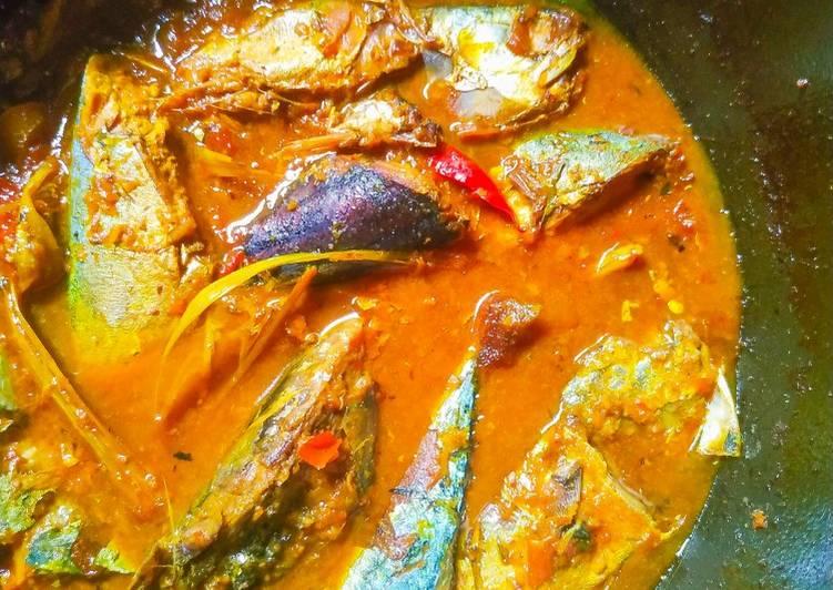 Resep memasak Asam - asam ikan Peda enak