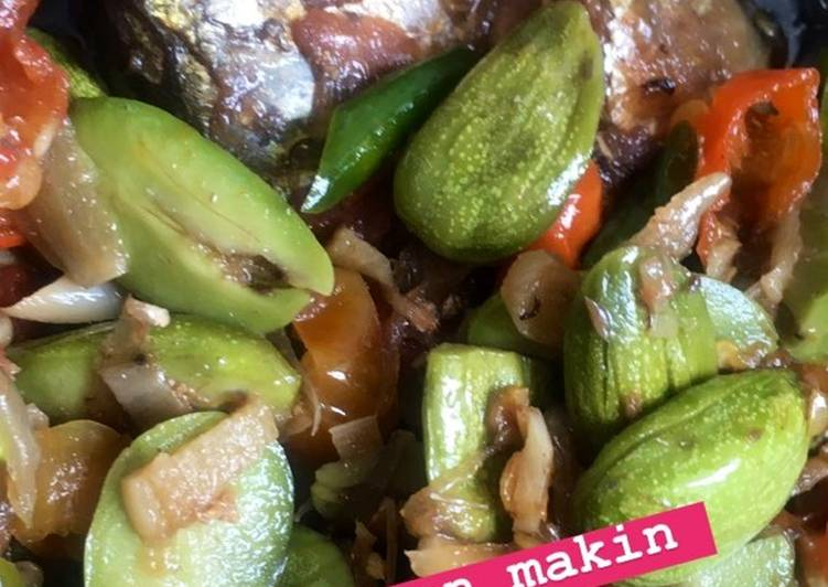Cara memasak 5. Tumis peda pete 🍒 lezat