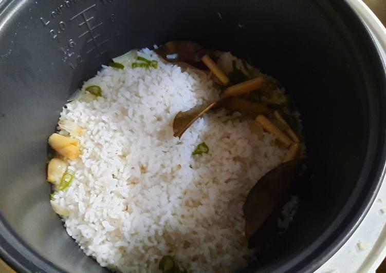 Resep: Nasi Liwet dan Asin Peda