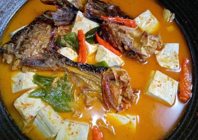 Resep: Gulai patin salai dan tahu enak