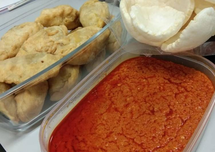 Resep: Sambal Cocolan Kemplang/Kerupuk ala resto
