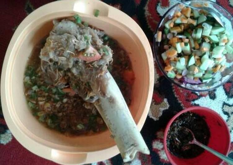 Resep memasak Sop tulang sumsum sapi..#Kitaberbagi yang bikin ketagihan