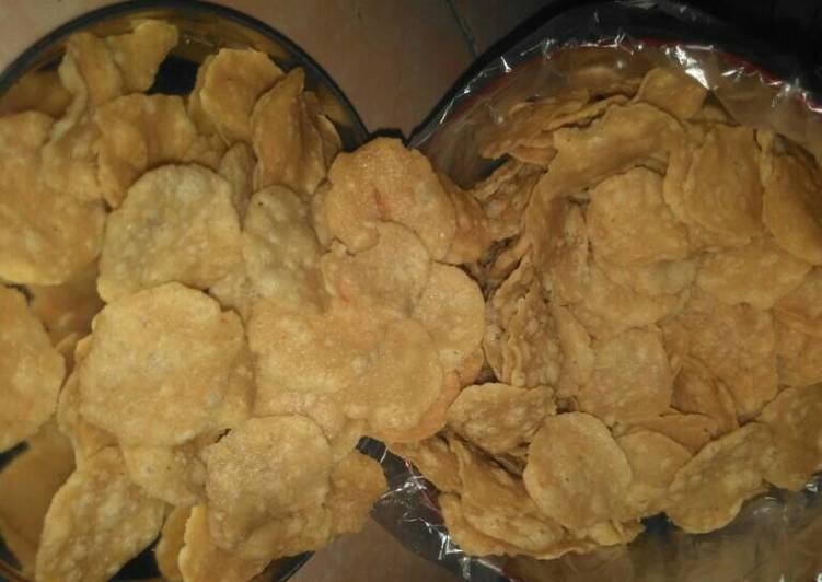Cara Mudah memasak Kemplang gurih dan renyah lezat