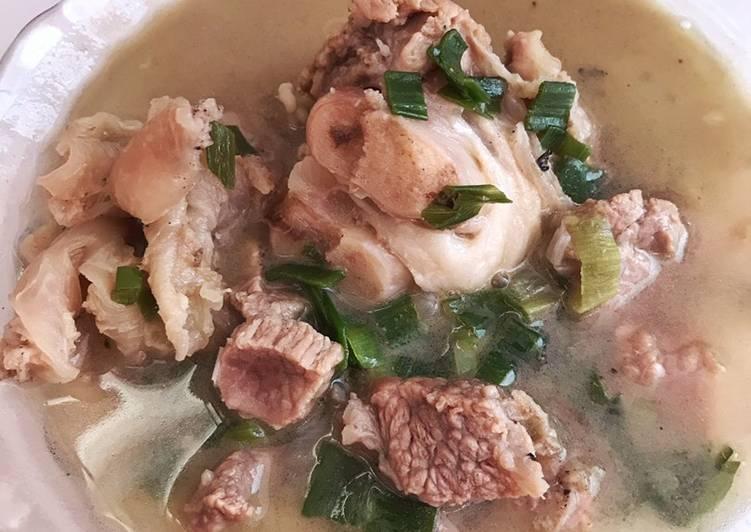 Resep: Sop daging sumsum yang bikin ketagihan