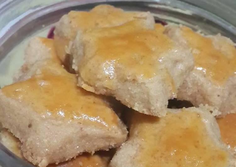 Resep: Peanut Cookies / Bangkit kacang ala resto