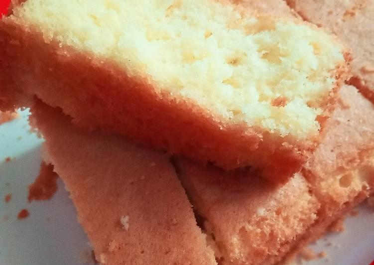 Resep membuat Bolu satu telur ala miss decdec enak