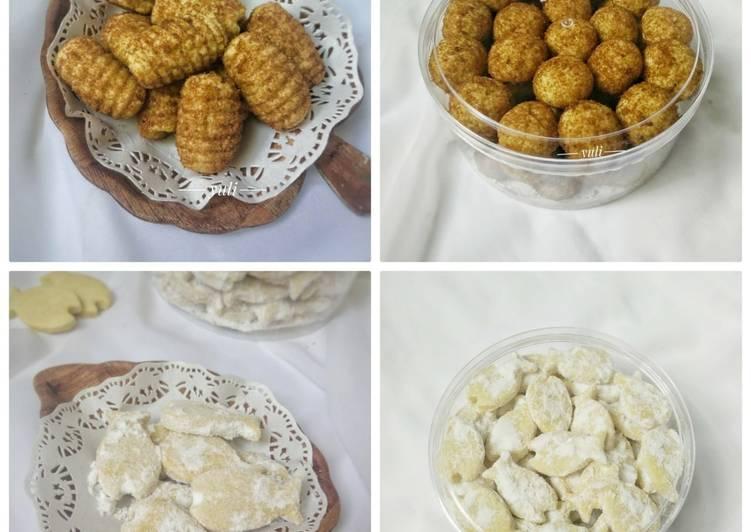 Cara membuat Palm suiker dan kue ikan bersalju (satu adonan jadi 2 kue) ala resto
