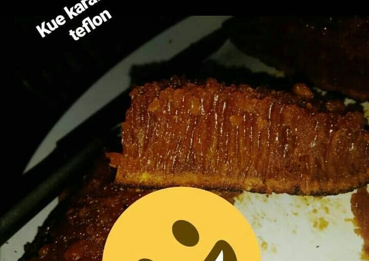 Resep: Kue sarang semut teflon satu telur ala anak kos istimewa