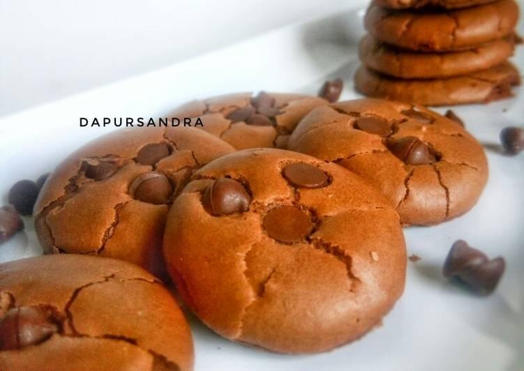 Resep: Brownies Cookies ala resto