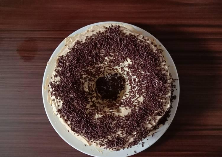Resep: Bolu kukus coklat (takaran sendok) enak