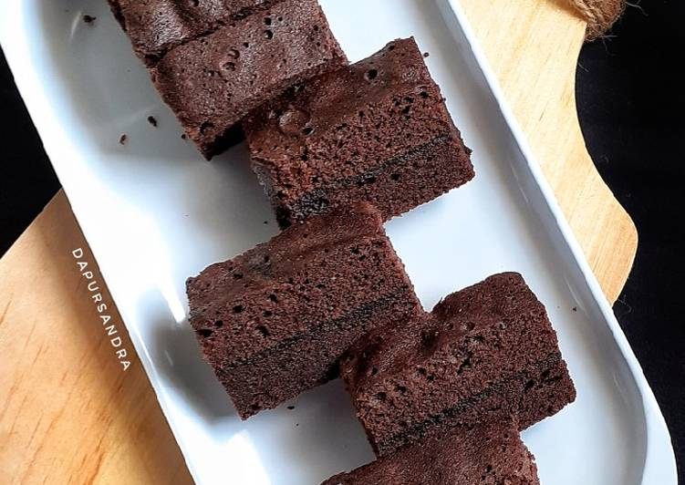 Cara Mudah memasak Brownies Kukus ala resto