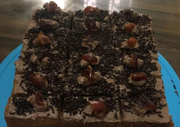 Resep: Bolu jaduL moka coklat enak