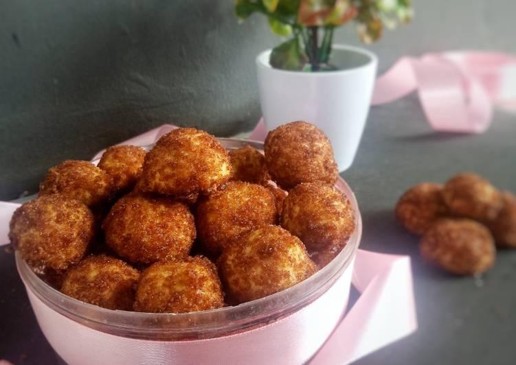 Cara Mudah membuat Palm Sugar Cheese Cookies ala resto
