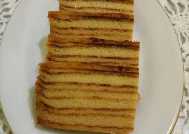 Resep: Maksuba kue khas Palembang ala resto