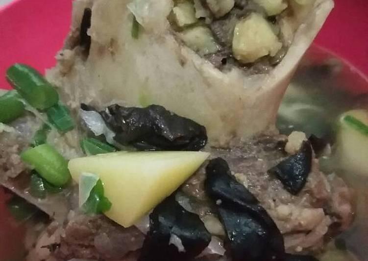 Cara Mudah memasak Sop sumsum sapi #alaraisa enak