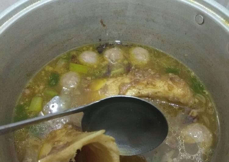 Resep: Sup tulang sum sum yang bikin ketagihan