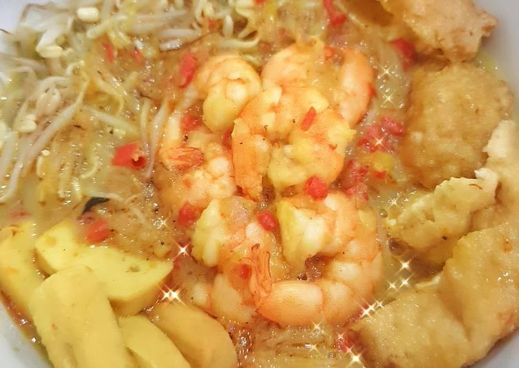 Resep memasak Healthier version Singapore Laksa yang menggugah selera