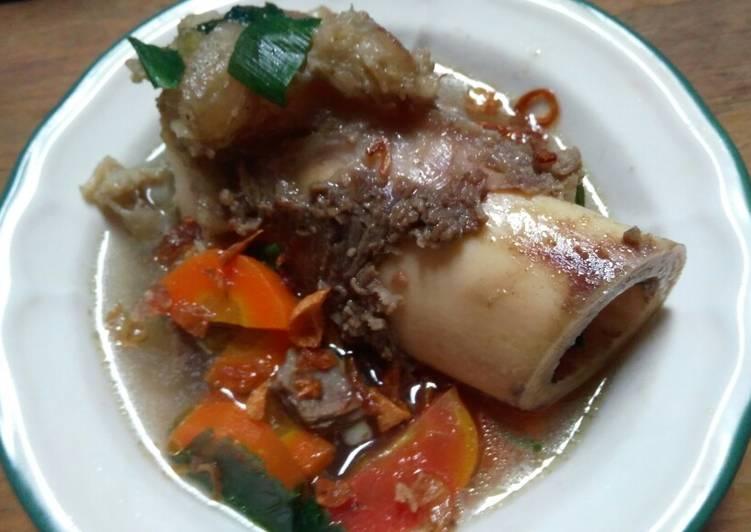 Cara memasak Sop sumsum rempah #edisiiduladha# lezat