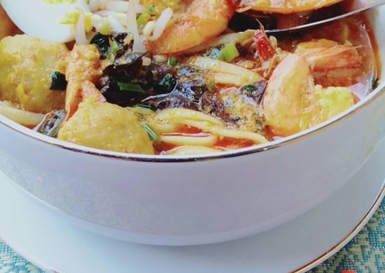 Resep memasak Spaghetti laksa lezat