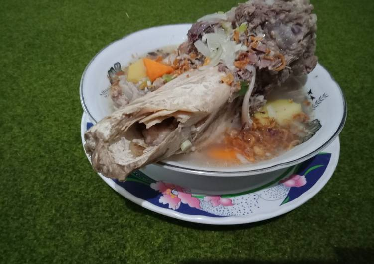 Resep memasak Sup sum sum tulang sapi sedap