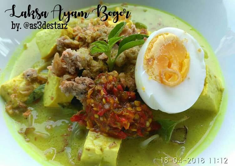 Cara memasak Laksa Ayam Bogor yang bikin ketagihan