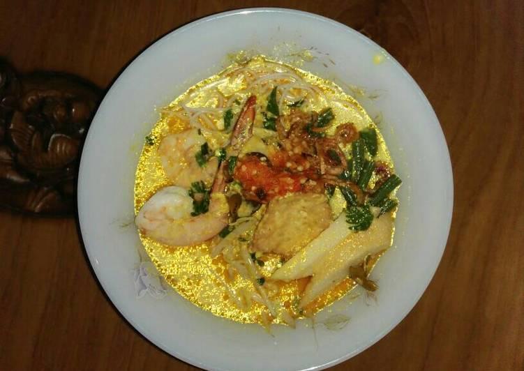 Cara Mudah memasak Laksa singapore sedap