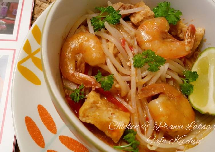 Resep: Chicken & Prawn Laksa Curry
