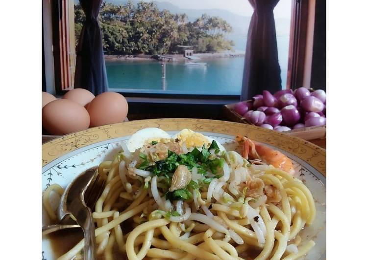 Resep memasak Mie Celor khas Curup Bengkulu ala resto