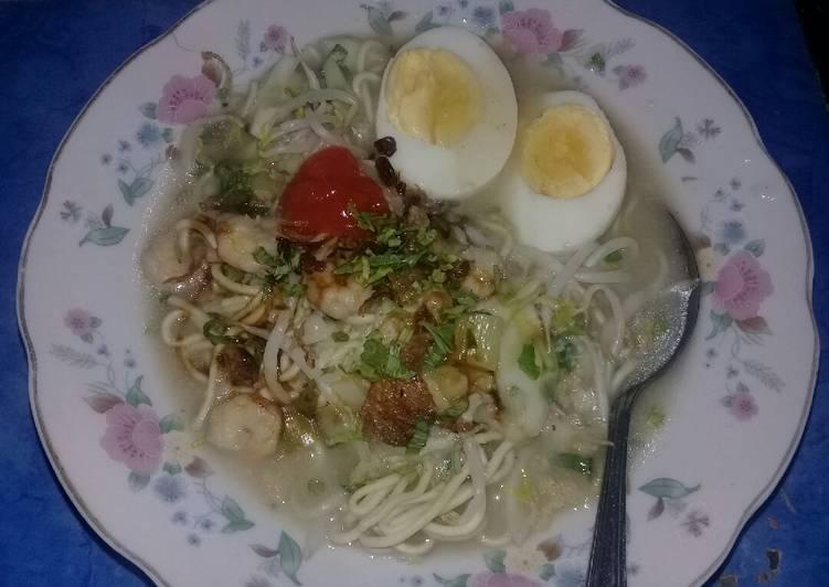 Cara Mudah memasak Mie Celor ala NR #BikinRamadanBerkesan #Day4 sedap