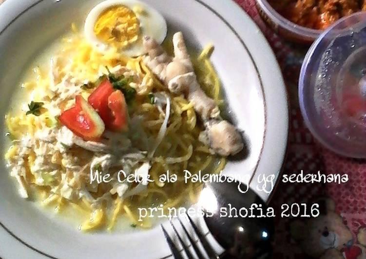 Cara Mudah memasak Mie Celor ala Palembang yg sederhana ala resto
