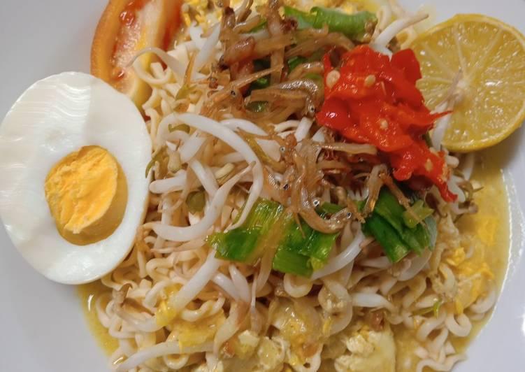 Cara memasak 118.Mie Celor Teri Palembang ala resto