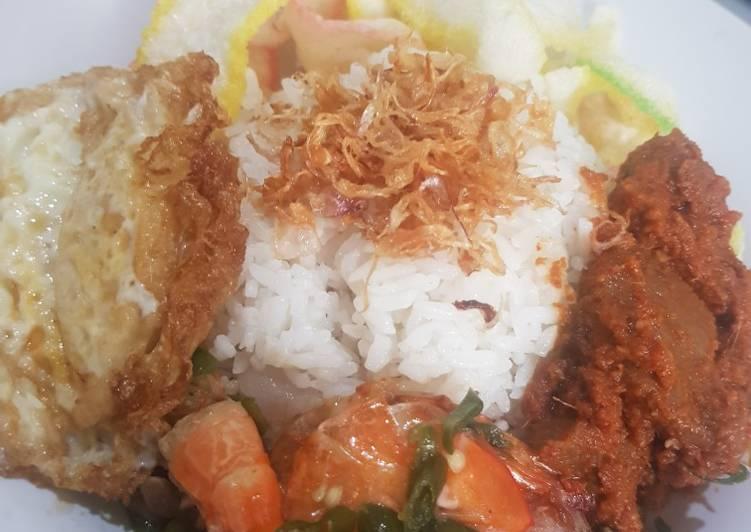 Nasi Gurih Aceh (Nasi Lemak)